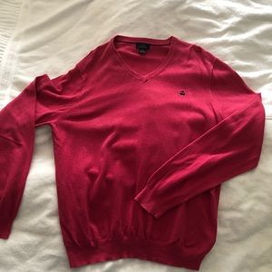 Brooks Brothers Sweater Men Pink XL M83